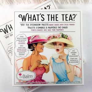 theBalm What's The Tea Hot Tea Eyeshadow Palette